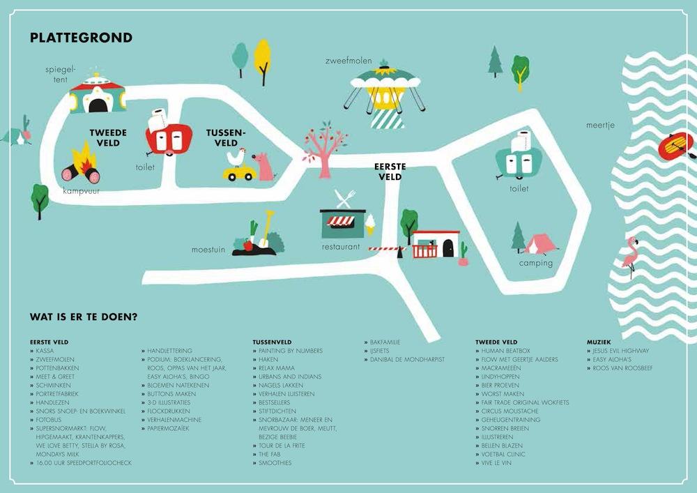 Plattegrond Snorfestival