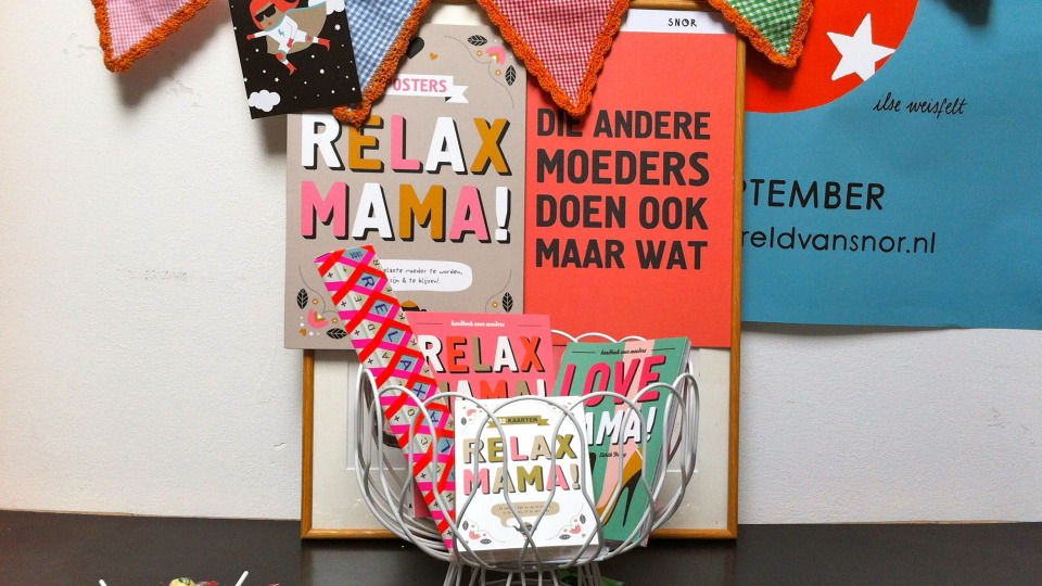 Feest: vier jaar Relax Mama!