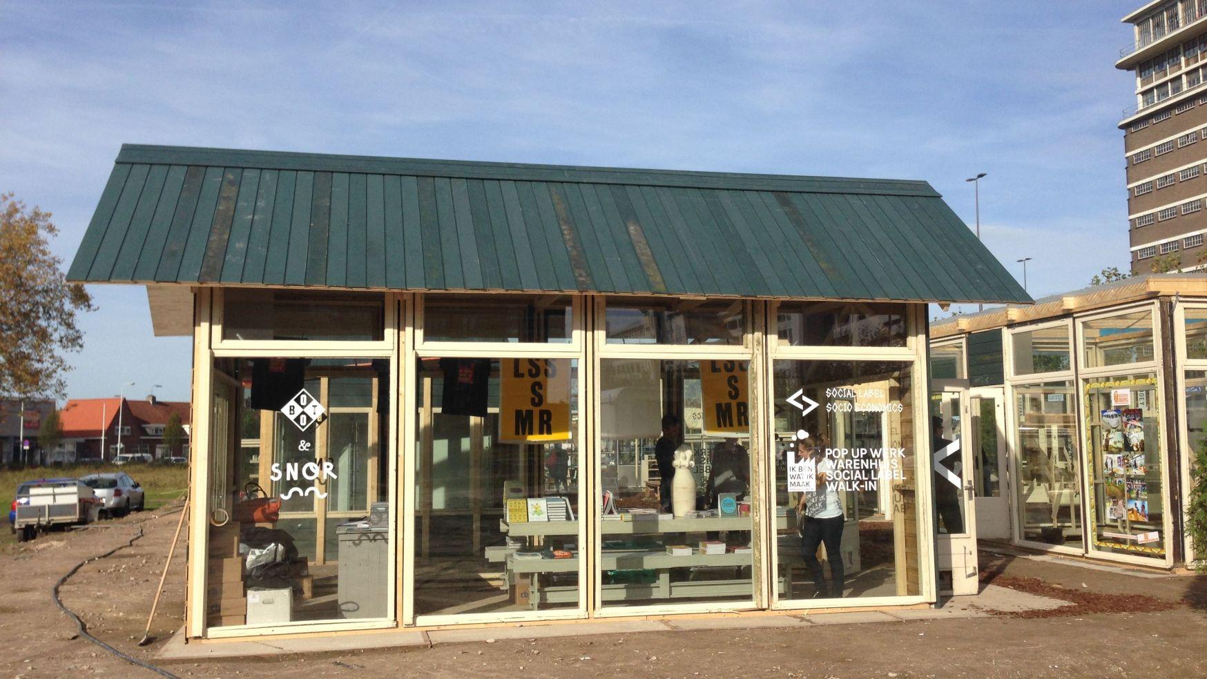 Snors pop-up store bij DDW