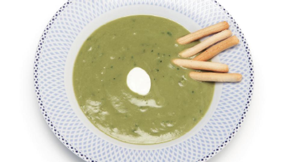 Recept: avocadosoep met limoen en koriander