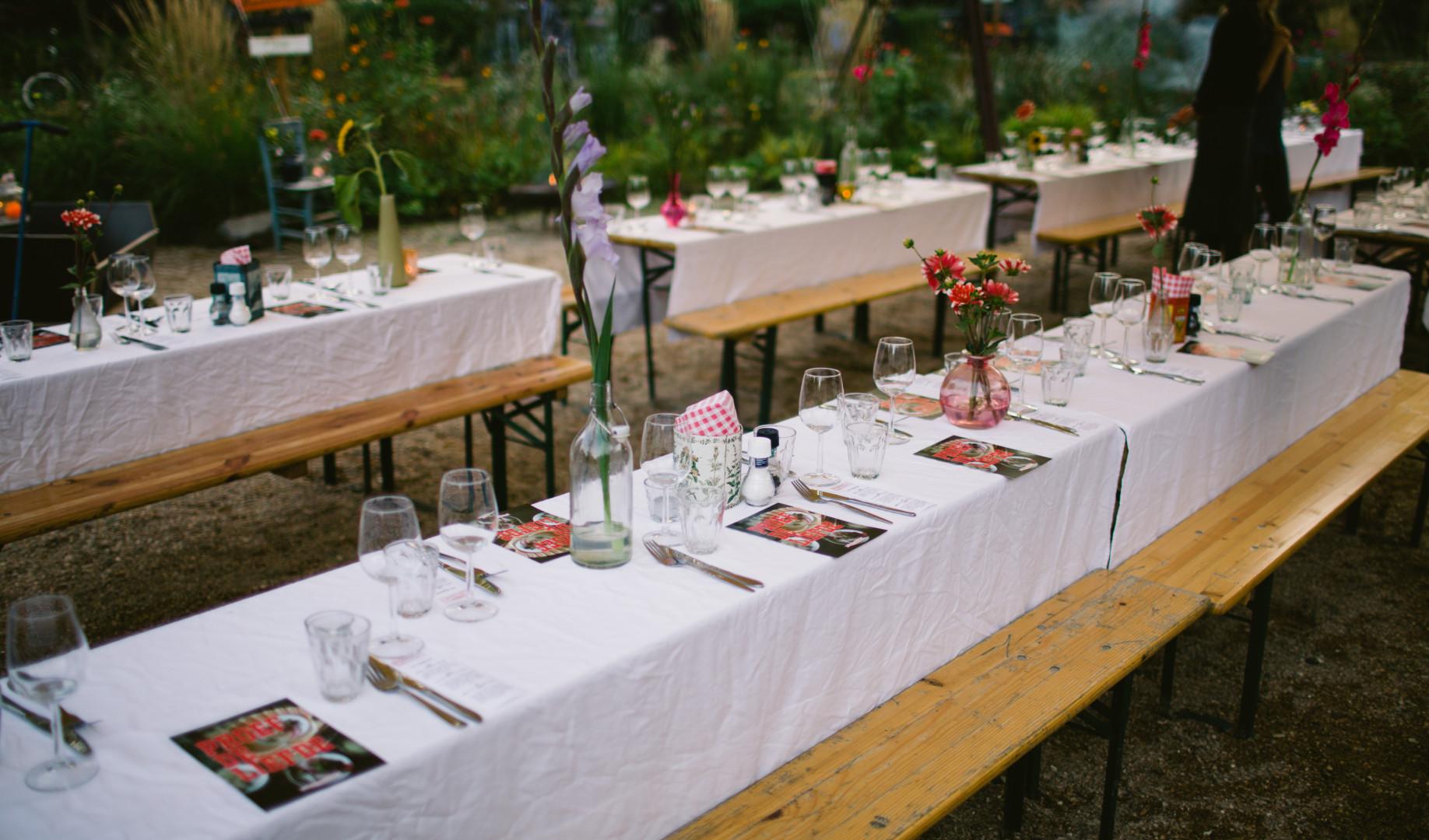diner dansant uitgeverij snor proef de liefde boeklancering tafel gedekt delievelinge