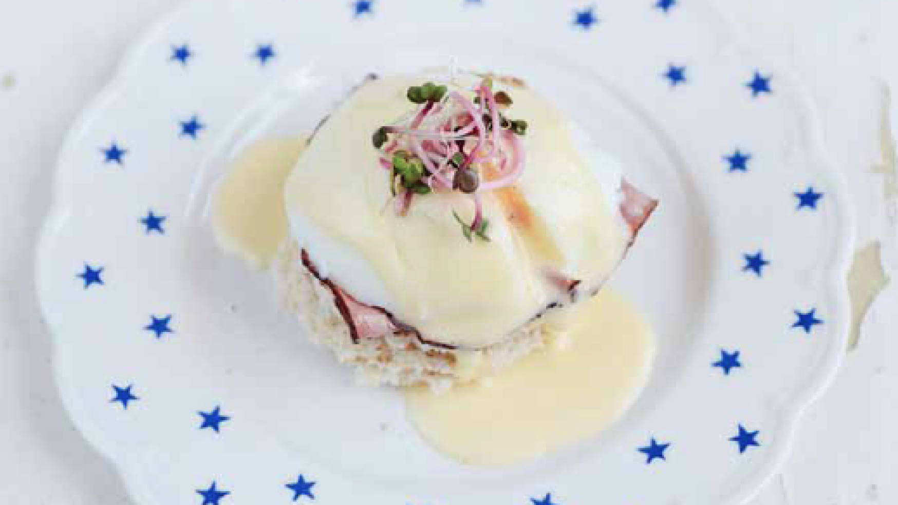 Recept: Eggs benedict