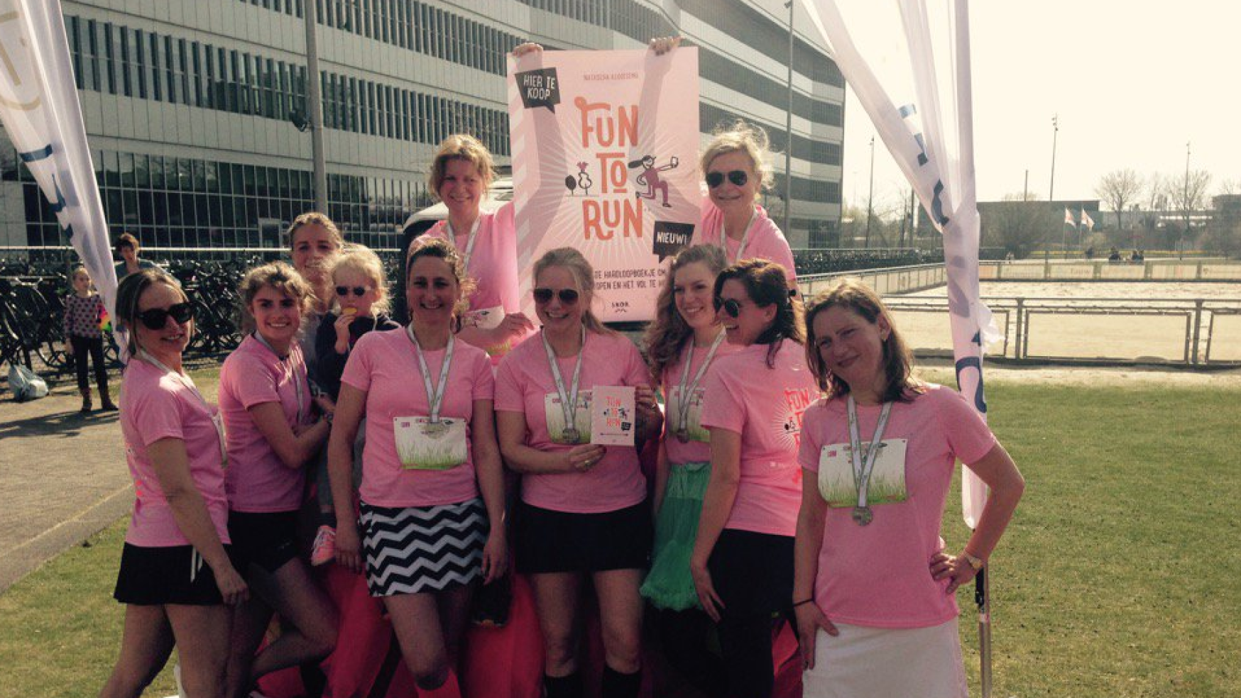 Fun to Run op de Rokjesdagloop 2016