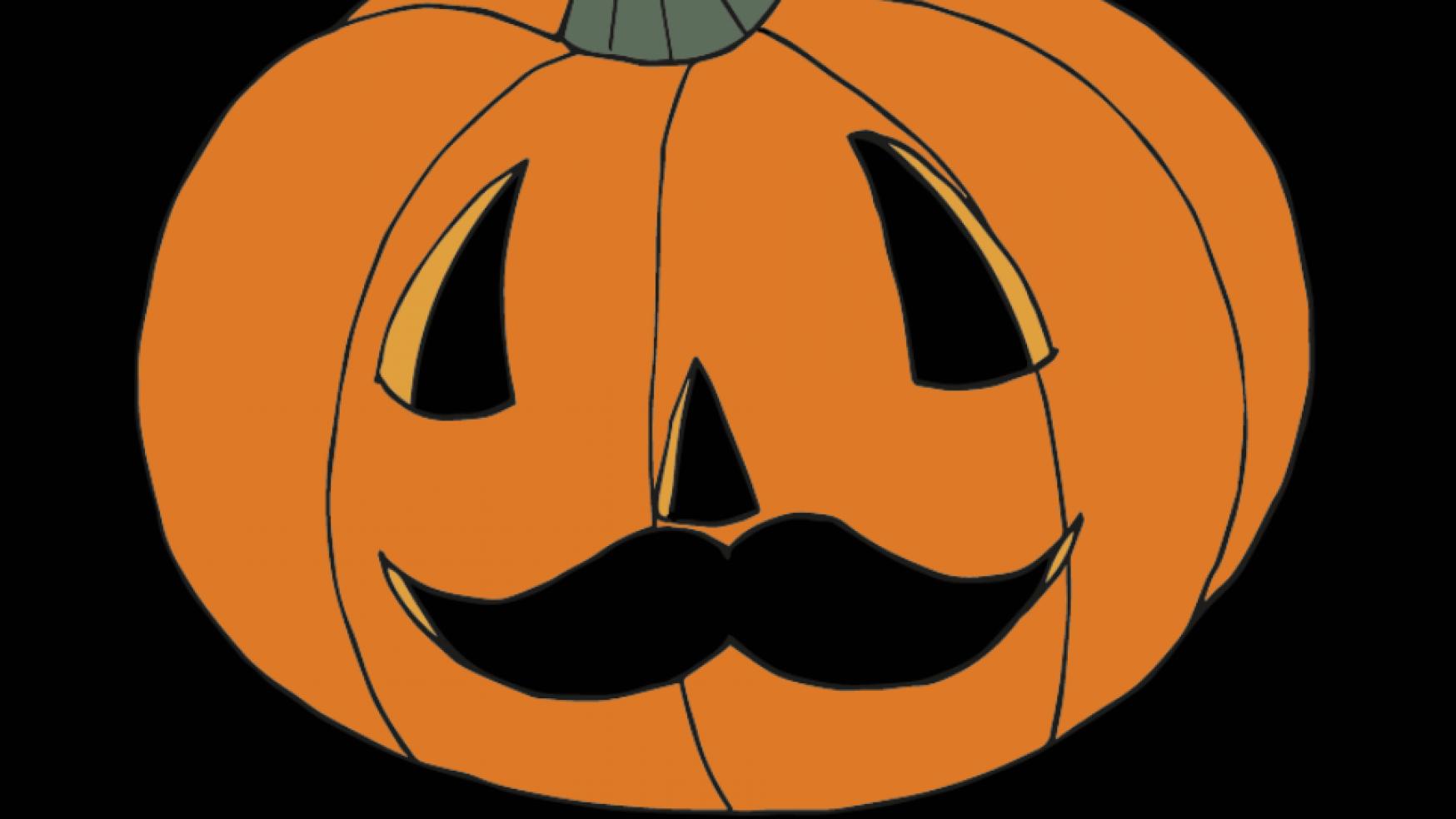 Gratis Snor-Halloweenposter