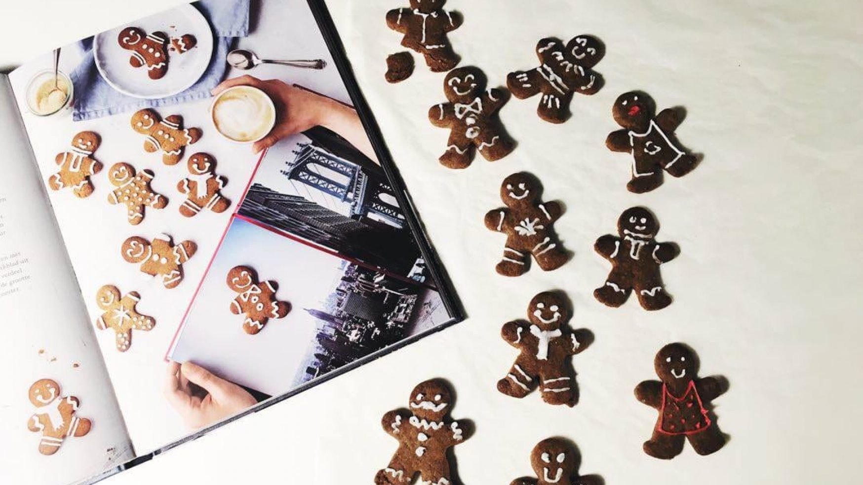 New York Kerstmis Bake off: Gingerbread Men